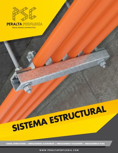 Sistema Estructural, Abrazaderas, Perfilería, Elementos de Fijación