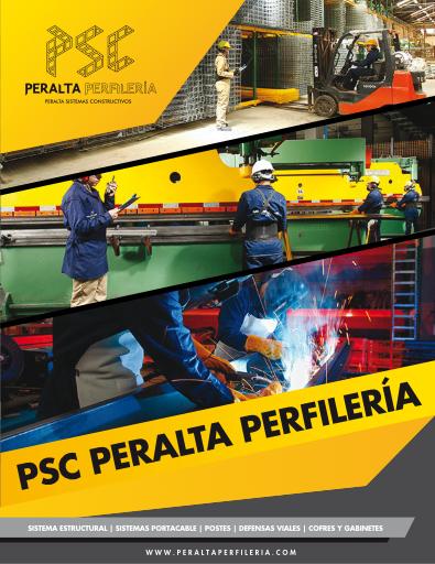 PSC | Peralta Perfilería - Fabricación de Bandeja Portacable tipo Escalera y Tipo Malla, Ductos, Defensa Vial, Cofres Eléctricos, Postes Metálicos, Abrazaderas.